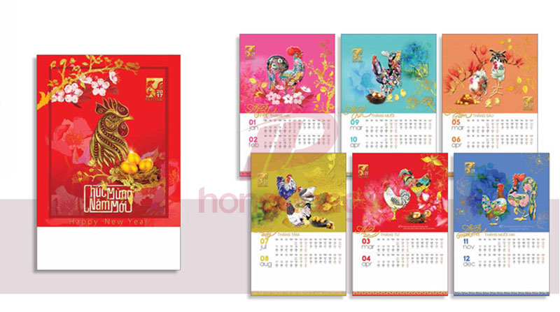 In Lịch Tết Giá Rẻ 2018 BS3