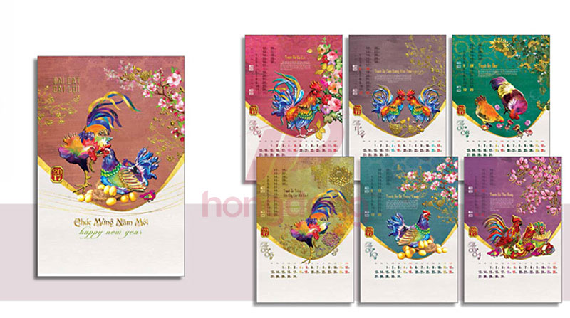 In Lịch Tết Giá Rẻ 2018 BS4