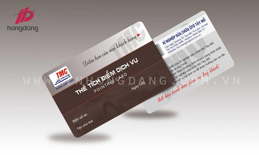 In thẻ tích điểm  03