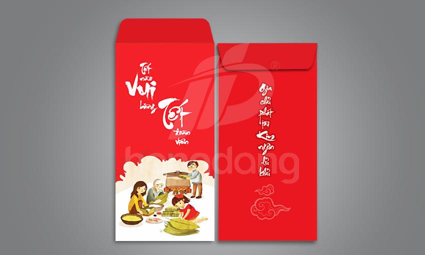 In bao lì xì 2018 Hà Nội