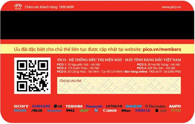 In thẻ thành viên bền đẹp giá tốt tại Hà Nội